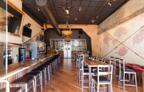 Heritage Salvage belly left coast kitchen and taproom santa rosa CA 4
