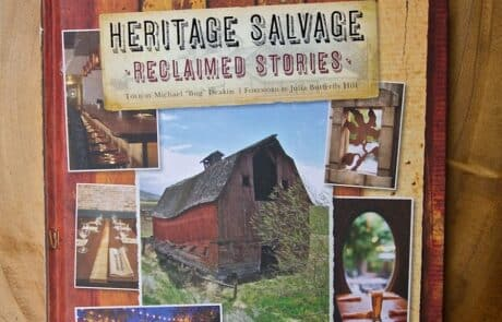 Heritage Salvage heritage salvage reclaimed stories Book cover 1