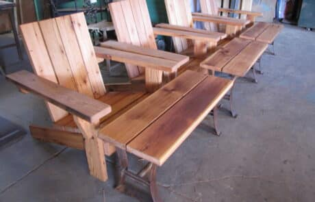 Heritage Salvage outdoor tables 17