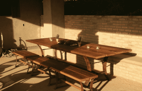 Heritage Salvage outdoor tables 65
