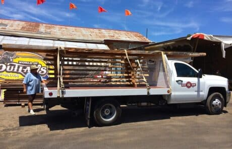 Heritage Salvage pick up delivery 06