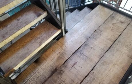 Heritage Salvage reclaimed stair treads 06