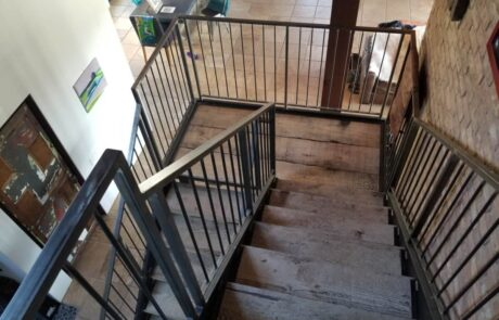 Heritage Salvage reclaimed stair treads 07