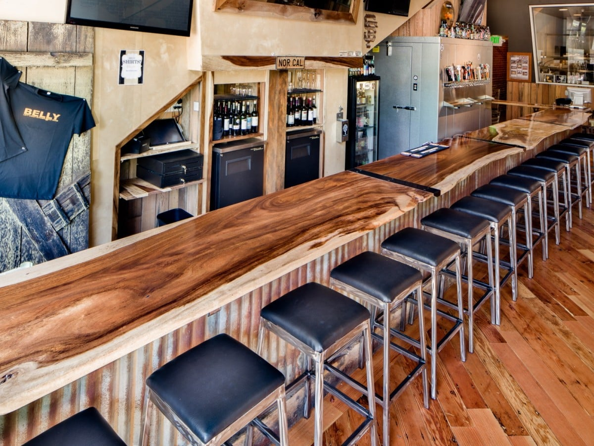 Heritage Salvage belly left coast kitchen and taproom santa rosa CA 5