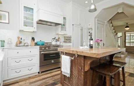 Heritage Salvage kitchen island 30