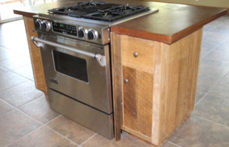 Heritage Salvage kitchen island 36