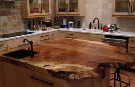 Heritage Salvage kitchen island 38