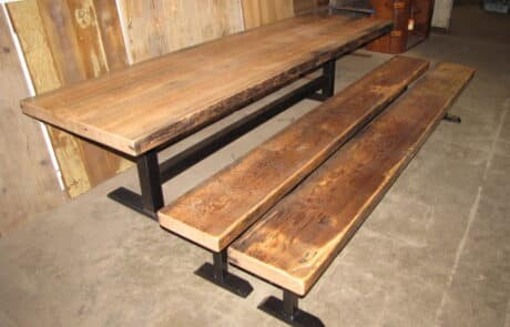Heritage Salvage outdoor tables 29