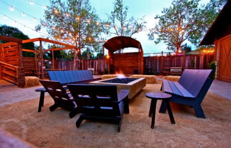 Heritage Salvage outdoor tables 33