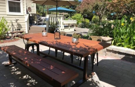 Heritage Salvage outdoor tables 39