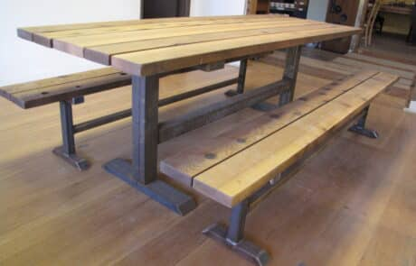 Heritage Salvage outdoor tables 51