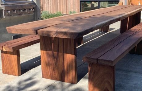 Heritage Salvage outdoor tables 53