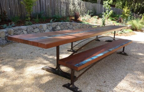 Heritage Salvage outdoor tables 61