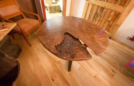 Heritage Salvage pedestal base table 01