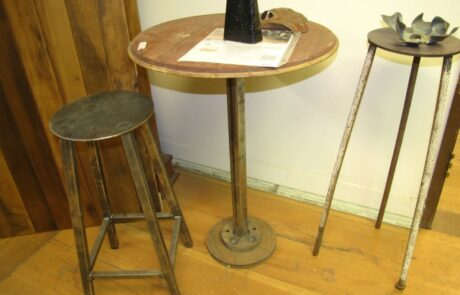 Heritage Salvage pedestal base table 03
