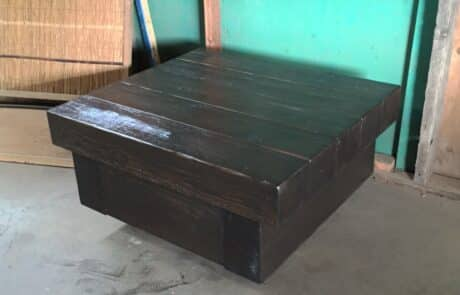 Heritage Salvage pedestal base table 07