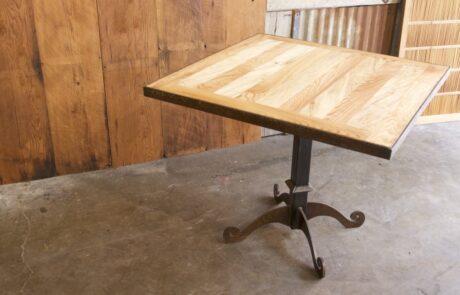 Heritage Salvage pedestal base table 11