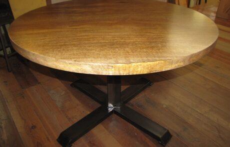 Heritage Salvage pedestal base table 16