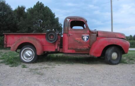 Heritage Salvage pick up delivery 09