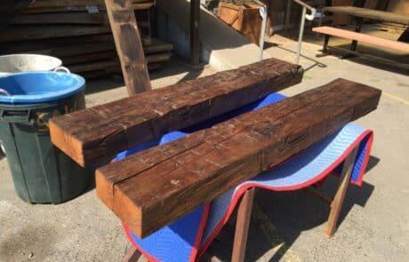 Heritage Salvage reclaimed hand hewn beams 29