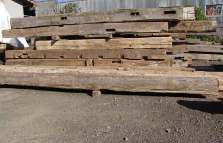 Heritage Salvage reclaimed hand hewn beams 39