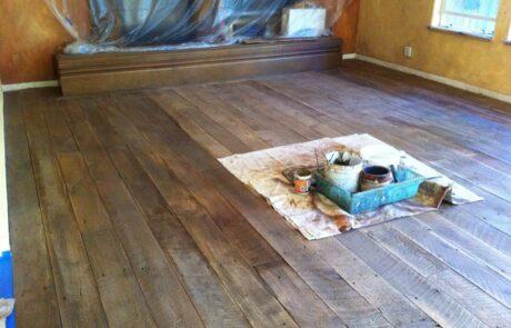 Heritage Salvage shiplap flooring installation 05