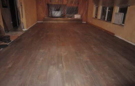 Heritage Salvage shiplap flooring installation 06