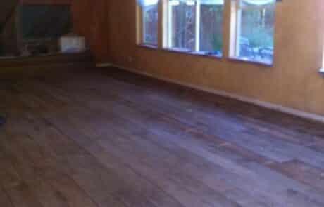 Heritage Salvage shiplap flooring installation 07