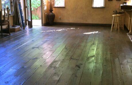 Heritage Salvage shiplap flooring installation 10