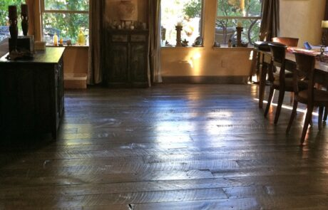 Heritage Salvage shiplap flooring installation 12