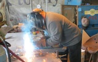 Heritage Salvage welding 13