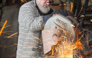 Heritage Salvage welding 20