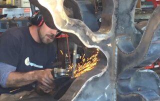 Heritage Salvage welding 23