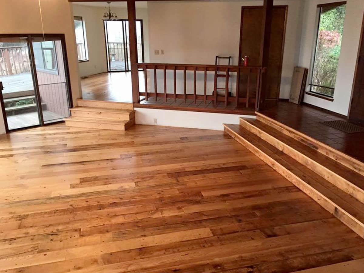 Heritage salvage wood flooring